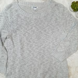 Old Navy lightweight gray sweater